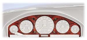 Schätz 1720200 compte-tours et boîtier pour Mercedes W140 et S-Classes R129 SL avec motif en ronce de noyer