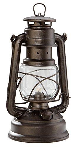 FEUERHAND Baby Special 276 verzinkt Petroleumlampe Sturmlaterne / bronze glänzend / NEU