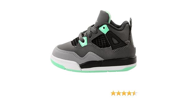 Nike AIR Jordan 4 Retro Enfant - Age - Enfant, Couleur - Gris ...