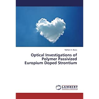 Optical Investigations of Polymer Passivized Europium Doped Strontium