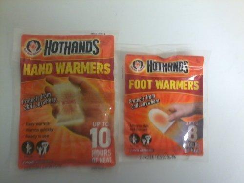 HeatMax Chaufferettes pour mains et pour pieds 6 paires de chaque