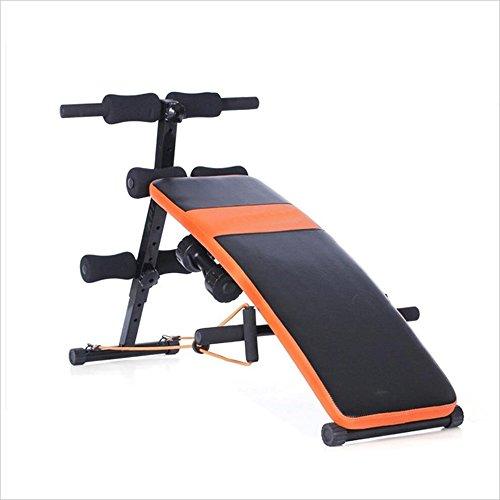 Klappbare Fitnessbank für Core Sports Machine Glider 5 Minuten Shaper Home Bauch Multi-Funktions-Bauchmuskeln Hantelbank mehrfach verstellbare Trainingsbank - Multi Glider
