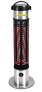 Firefly 1.2KW Weatherproof Free Standing Outdoor Patio Safety Heater IP55