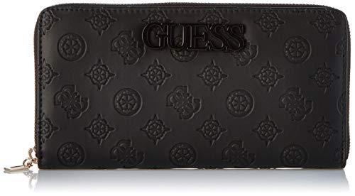 Guess janelle, portafoglio donna, nero (black), 3x11x21 cm (w x h x l)