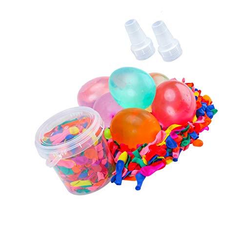 LuLyL Paquete de 1000 Bombas de Globo de Agua para niños y Adultos, Juegos de Lucha con Bombas de Agua al Aire Libre