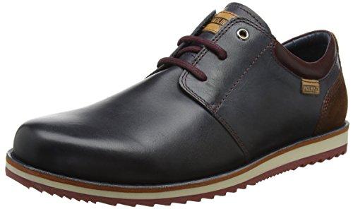 Pikolinos Biarritz M5a_i17, Zapatos de Cordones Oxford para Hombre, Azul (Navy Blue), 40 EU