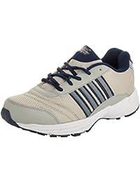 Allen Cooper Men's Grey and Navy Blue Running Shoes