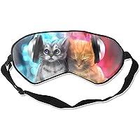 Schlafmaske mit Musikkatzen, Seide, Schattenmaske, Schlaf Gossles Augenhade/Augenbinde preisvergleich bei billige-tabletten.eu