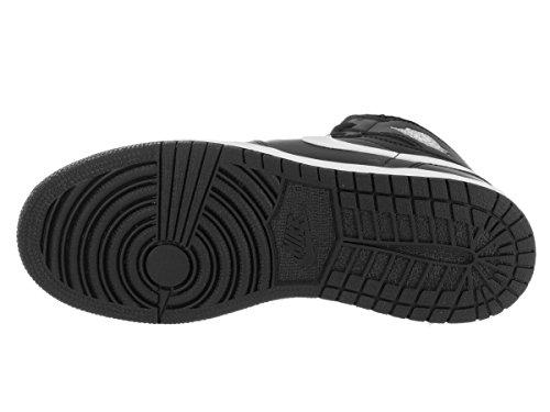 Nike Air Jordan 1 Retro High Og Bg, Scarpe da Basket Bambino Nero (Black (nero / rete bianco-nero-universitaria))