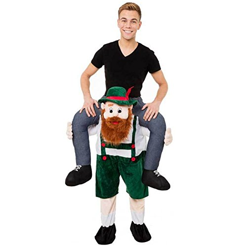 Fancy Carry Me Green Beer Guy Costume Beer Guy Bear Mascot Fancy Party Dress