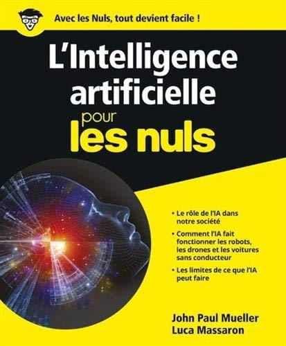 L'Intelligence artificielle pour les Nuls par John Paul MUELLER