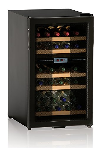 Ip Industrie - Cantinetta refrigerata porta in doppio vetro 5 ripiani per una capienza complessiva di 28 bottiglie