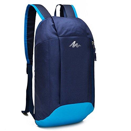 Rucksack 10 Liter blau zum Wandern, Trekking, Radfahren, Reisen oder als Kinderrucksack geeignet