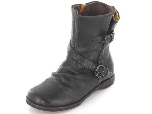 Menina Boots Ankle Ossos E Cinza Em Pedras Fumaça Meio 2023 Sirmi HYcq6a