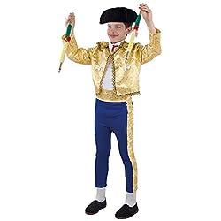 DISBACANAL Disfraz de torero para niño - Único, 4 años