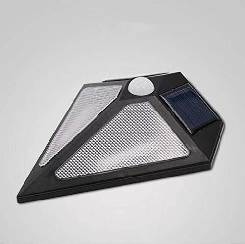 Eeayyygch Lámpara de Pared Solar del LED, luz infrarroja de la Puerta...