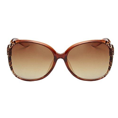 Lubier 1Lady Frauen Suglasses Eyewear Ultra Light Polarisierte Sonnenbrille Polarisierte Sport Sonnenbrille für Wandern