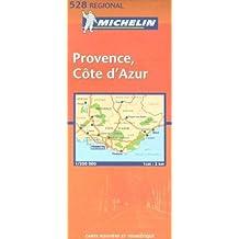 Carte routière : Provence Côte d'Azur, N° 11528