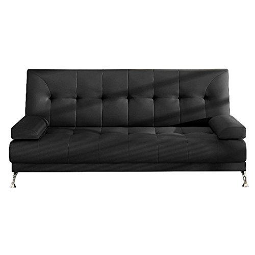 Schlafcouch Schlafsofa - Venice Moderne Sofa mit Schlaffunktion, Bettsofa, Materialmix, Couch vom Hersteller, Couchgarnitur (D8)