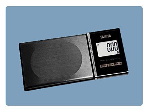 Balanza de bolsillo TANITA Capacidad 120g Precisión 0,01g Gran calidad, precisión y fiabilidad