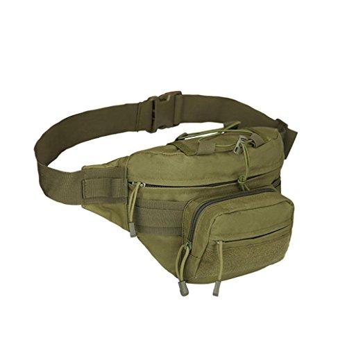 Bauchtasche Hüfttasche ,LMMVP Outdoor Trekking Hip Bag Camping Wandern Taschen Army green