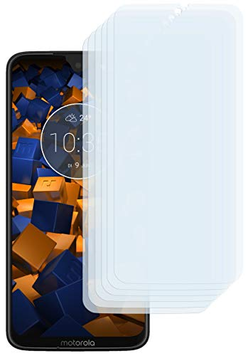 mumbi Schutzfolie kompatibel mit Motorola Moto G7 Plus Folie klar, Bildschirmschutzfolie (6X)