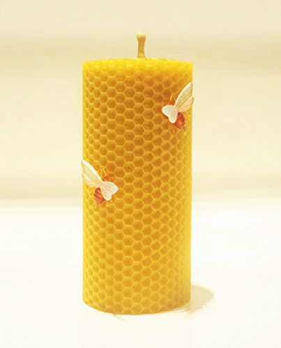 100-beeswax-honeycomb-pillar-candle-13-cm-high-6-cm-width-eco-candle-hand-rolled-natural-and-lovely-