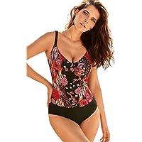 Luckycat Ropa de Baño Mujer Bikini Push Up Tanga Trajes De Una Pieza Bikinis Women Mujeres Verano Traje De Baño Bikini Push-Up Acolchado Sujetador Bañador Traje De Baño