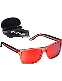 4768818a3385 Cressi Rio - Premium Sport Sunglasses Polarized Lens 100 Percent UV  Protection