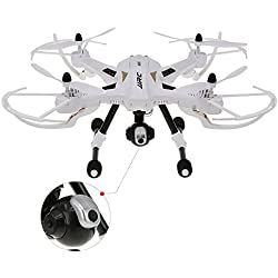 GoolRC JJRC H26W 4 Canales eje 6 Gryo FPV Drone RC Quadcopter con 2,0 MP HD cámara y Control Remoto 2.4G