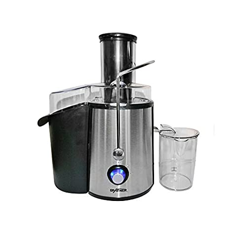 Grafner® 1000 Watt Entsafter für Obst und Gemüse Edelstahl kraftvoll Saftpresse Obstpresse Juicer