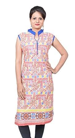 Lavanya Fashion Women's Cotton Kurti(LAV03_XL_04_Red_XL)