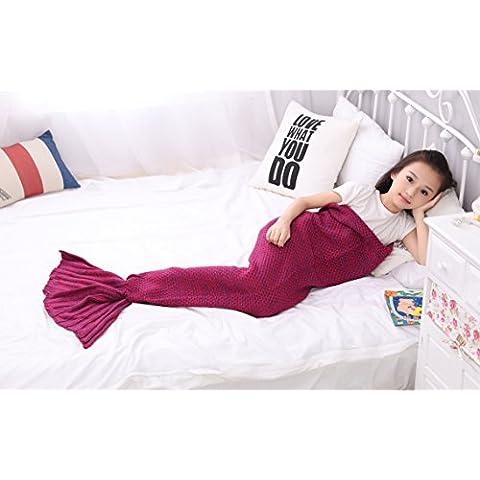 Handmade sirena coperta, coperta divano letto, tutte