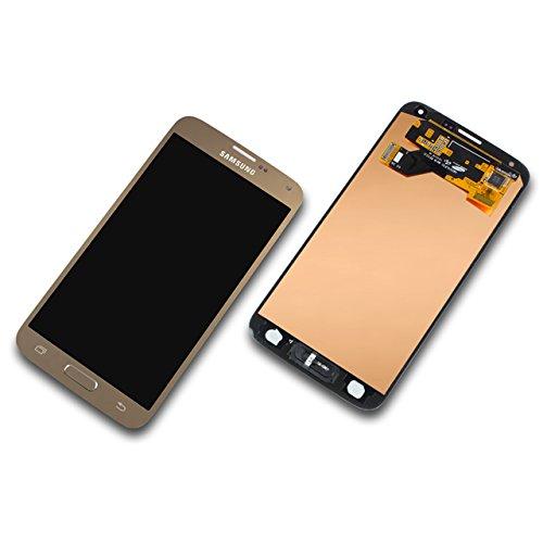 o SM-G903F gold Display-Modul + Digitizer GH97-17787B ()