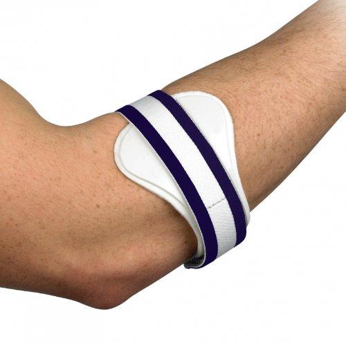 Medipaq Tennis oder Golferellbogen Epicondylitis Stützschnalle - Trägt Druck auf die geschädigten Bänder zu für Schmerzlinderung.