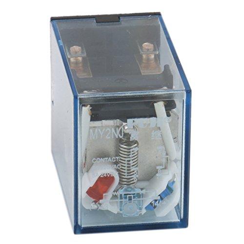 heschen Gereral Zweck Relais My2nj 12VAC Coil 5A 24VDC/220VAC DPDT LED-Anzeige -