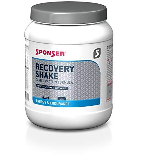 Recovery Shake (Sponser Recovery Shake 900g Dose Vanille Sportgetränk Fitness Regeneration, 03-524)