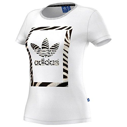 54cc5339a99f21 Test adidas Damen T-Shirt Zebra Trefoil Die Beste