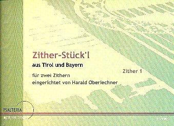 Zither-Stück'l: für 2 Akkordezithern Stimmen