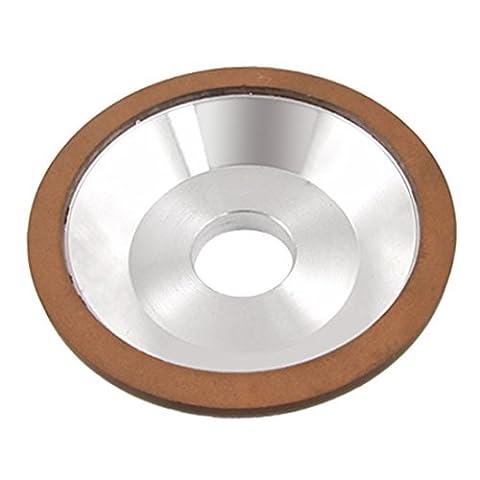DealMux 75% 180 Grit Resin Bond Diamond Grinding Wheel Grinder 125mm x 32mm