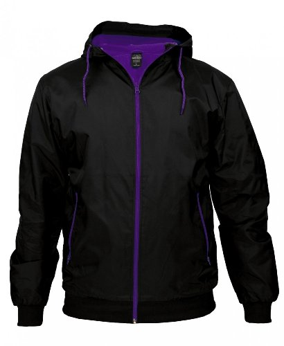 Urban classics contrast windrunner Black/ Red