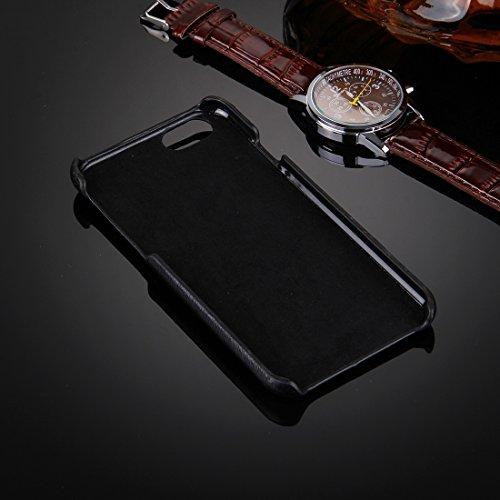 Phone case & Hülle Für iPhone 6 / 6s, Öl Haut Textur Stickerei Leopard Muster PU Paste Haut PC Schutzhülle ( SKU : IP6G0536A ) IP6G0536D
