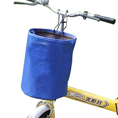 NACHEN Fahrradkorb Mountainbike Zubehör Faltrad Raster Korb, Blue
