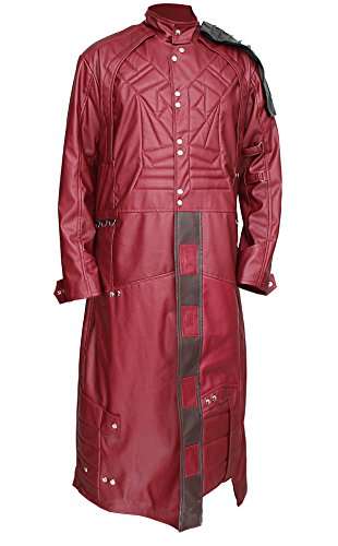 AngelJackets Guardians of The Galaxy Star Lord Trench Coat XXXL - AngelJackets Wächter der Galaxy Star Lord Trench Coat XXXL (Guardians Of The Galaxy Gamora Halloween Kostüm)