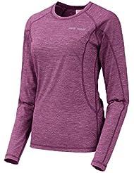 Trango Greeve - Camiseta interior para mujer, color morado, talla L
