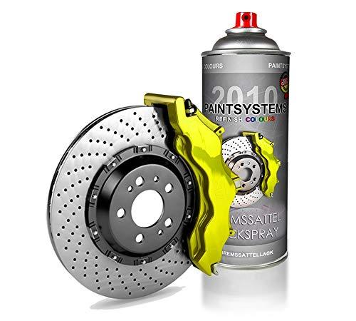PAINTSYSTEMS REFINISH COLOURS 400ml Bremssattel Lackspray Autolack Spraydose - Bremssattellackspray- gelb