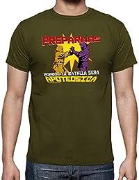 latostadora - Camiseta Preparaos Porque la para Hombre