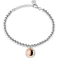 Idea Regalo - bracciale donna gioielli Morellato Boule trendy cod. SALY08