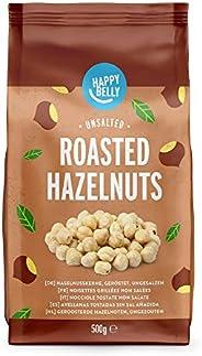 Amazon-Marke : Happy Belly Haselnusskerne, geröstet & ungesalzen 4x
