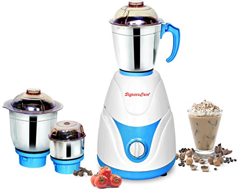 Signora Care Eco Plus 500-Watt Mixer Grinder with 3 Jars...